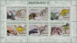 Mozambique 2007 MNH - Dinosaurs II. Sc 1780, YT 2402-2407, Mi 2970-2975 - Mozambique
