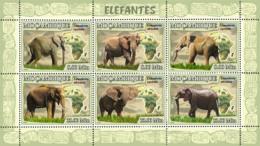 Mozambique 2007 MNH - Elephants. Sc 1758, YT 2408-2413, Mi 3038-3043 - Mozambique