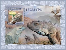 Mozambique 2007 MNH - Lizards. Sc 1798, YT 165, Mi 2997/BL222 - Mozambique