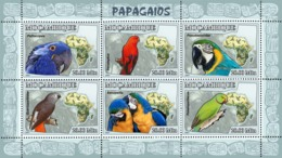 Mozambique 2007 MNH - Parrots. Sc 1773, YT 2468-2473, Mi 3023-3028 - Mosambik