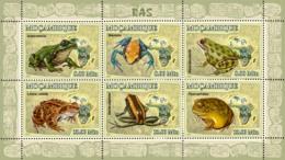 Mozambique 2007 MNH - Frogs. Sc 1765, YT 2480-2485, Mi 2957-2962 - Mozambique