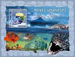 Mozambique 2007 MNH - Poisonous Fish. Sc 1795, YT 172, Mi 2956/BL217 - Mozambique