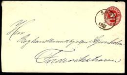 ENTIER POSTAL EN PROVENANCE DE SAEBY - DANEMARK - Postal Stationery