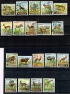 Angola 1953 Partial Set Animals USED - Angola