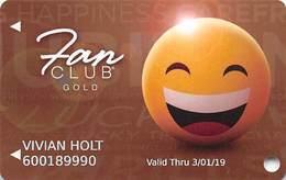 Isle Of Capri Casinos USA - Gold Slot Card @2018 - Casino Cards