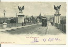 BASEL / WETTSTEINBRÜCKE - BS Bâle-Ville