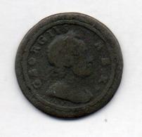 GRANDE BRETAGNE, 1 Farthing, Copper, 1720, KM #556 - A. 1 Farthing