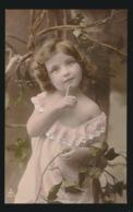 BELLE FILLETTE  MOOIE MEISJE  CARTE PHOTO  FOTKAART - Kinder