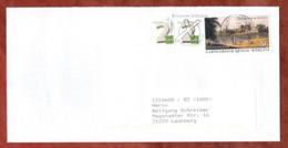 Brief, Gartenreich Dessau-Woerlitz Sk U.a., MS Europawahl Briefzentrum 90, Nuernberg Nach Leonberg 2014 (81304) - Covers & Documents