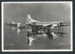 +++ CPA - SABENA - Avion - Aviation - Convair After A Shower On London Airport   // - 1946-....: Era Moderna
