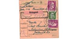 Allemagne  / Colis Postal  / Départ Berlin / 27-8-43 - Germany