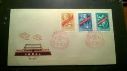 CHINA 1959 10th Anniv Of People's Republic  --FDC++ - 1949 - ... République Populaire