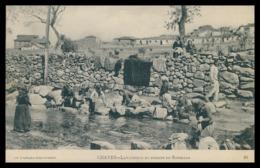 CHAVES - LAVADEIRAS - Lavadeiras No Regato De Ribellas ( Ed. Typ. E Papelaria Mesquita Nº 23) Cartes Postales - Vila Real