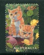 AUSTRALIE- Y&T N°1550- Oblitéré (chats) - 1990-99 Elizabeth II