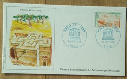 FDC 1984 - YT Service N°79 - UNESCO - PARIS - FDC