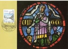 SUISSE. N°1173 Sur Carte Maximum De 1983. Vierge. - Astrology
