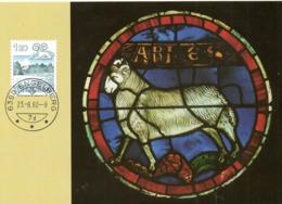 SUISSE. N°1158 Sur Carte Maximum De 1982. Bélier. - Astrology