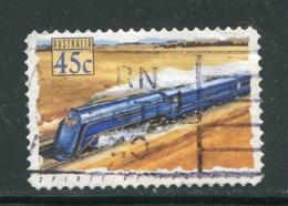 AUSTRALIE- Y&T N°1307- Oblitéré (trains) - 1990-99 Elizabeth II
