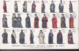 GRANDE BRETAGNE – Oxford University Degree Robes In 1675 - Inglaterra