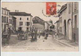 FRANCE / CPA / BADONVILLER / AVENUE DE LA GARE / 1907 - France