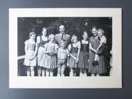 CARTE DE VOEUX AUTOGRAPHE (V1927) OTTO ET REGINA DE HABSBOURG (3 Vues) Photos De La Famille - Parent + Les 7 Enfants - Familles Royales