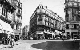 Angers Animée Le Carrefour Rameau Commerces Chaussures Raoul Voitures 2 CV Citroên - Angers