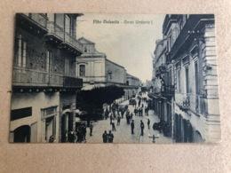 VIBO VALENTIA CORSO UMBERTO I. 1932 - Vibo Valentia