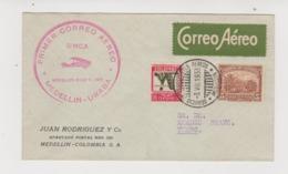 Primer Correo Aéreo UMCA 1933 - Colombia
