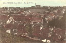Beaucourt Vue Generale - Beaucourt