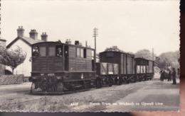 GRANDE BRETAGNE – Steam Tram On Wisbech To Upwell Line - Angleterre