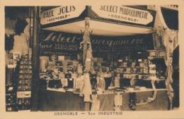 I143 - 38 - GRENOBLE - Isère - Stand Paul Jolis - Sélect Maroquinerie - 34, 36 Rue Saint-Jacques - Grenoble