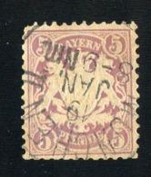 GS 1265 Bavaria 1878 Mi.#45 (o)  (cat. 25.€) - Bayern