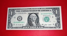 """United States 1 Dollar 2009 UNC P 530  """"B""""  NEW YORK  - UNC NEUF - Federal Reserve Notes (1928-...)"""