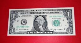 "United States 1 Dollar 2009 UNC P 530  ""B""  NEW YORK  - UNC NEUF - Billetes De La Reserva Federal (1928-...)"