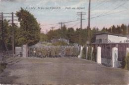 Camp D'Elsenborn Prêt Au Départ Circulée En 1930 - Elsenborn (camp)