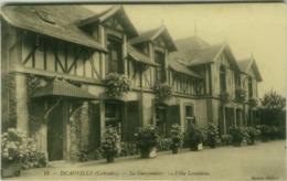 CPA - VILLA LOUISIANE - DEAUVILLE ( CALVADOS ) - LA GARZONNIERE - EDIT CAUVIN 1910s (BG5176) - Deauville