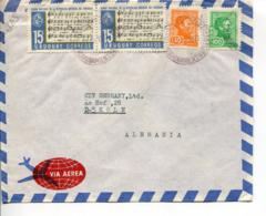 Uruguay (1973) Aerogramma Per La Germania - Uruguay