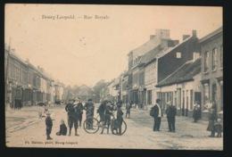 BOURG LEOPOLD  - RUE ROYALE -   2 AFBEELDINGEN - Leopoldsburg