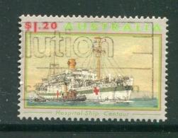 AUSTRALIE- Y&T N°1301- Oblitéré (bateaux) - 1990-99 Elizabeth II