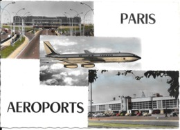CPA-1965-AEROPORTS-ORLY SUD-et LE BOURGET-BOEING 707-TBE - Aerodromes