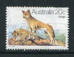 AUSTRALIE- Y&T N°689- Oblitéré (dingos) - Gebraucht