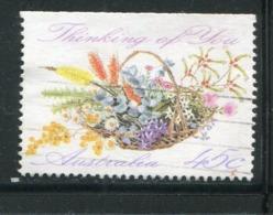 AUSTRALIE- Y&T N°1231a)- Oblitéré (voeux) - 1990-99 Elizabeth II