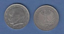 Bundesrepublik Kursmünze 2 Mark Max Planck 1968 J - Zonder Classificatie