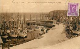 ILE-de-GROIX - La Flotte Des Thoniers Avant Le Départ Pour La Pêche - Bateaux De Pêche - Frankreich