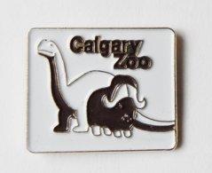 Pin's Zoo Calgary Dinosaure Buffle - ANIMAUX - Dieren