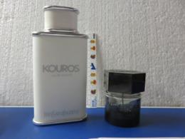 1flacon Kouros,1vapo YSL - Bottles (empty)