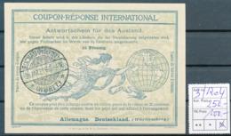 WÜRTTEMBERG / BUCHAU - 31.MR.21  ,  Ro4  ,  25 Pfennig -  Reply Coupon Réponse , Antwortscheine , IAS - Wurtemberg