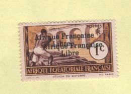 Afrique équatoriale N° 156a Neuf Sans Charnière - A.E.F. (1936-1958)