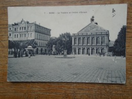 Algérie , Bône , Le Théâtre Et L'hôtel D'orient - Annaba (Bône)
