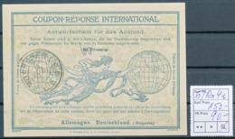 BAYERN / MÜNCHEN 1 B.P.   -  4 JUN 19  ,  Ro4  , 60  Auf   30 Pfennig -  Reply Coupon Réponse , Antwortscheine , IAS - Bavière